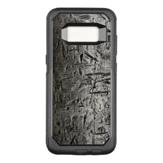 Old scratched cuted metal textures OtterBox commuter samsung galaxy s8 case