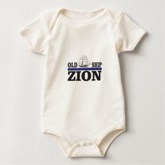 old ship zion baby bodysuit