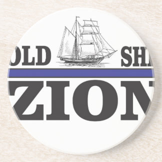 old ship zion beverage coasters