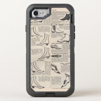 Old Shoe Advertising Vintage Victorian OtterBox Defender iPhone 8/7 Case