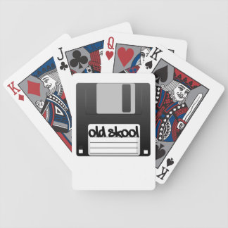 Old Skool Bicycle Playing Cards