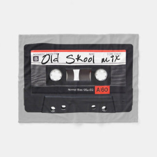 Old Skool Mix Fleece Blanket, Small