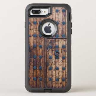 Old Small Door Within Large Doors OtterBox Defender iPhone 8 Plus/7 Plus Case