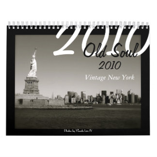 Old Soul 2010 Calendar - Vintage New York