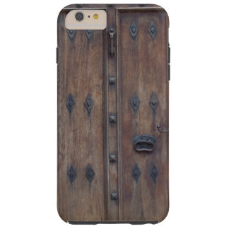 Old Spanish Wooden Door with Bolts Tough iPhone 6 Plus Case