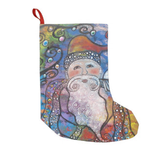 Old St. Nick Christmas Stocking