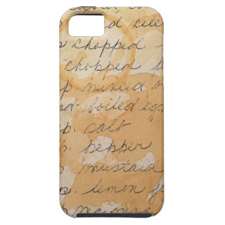 Old Stained Family Recipes iPhone 5 Cases