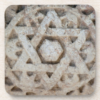 Old Star of David carving, Israel Coaster