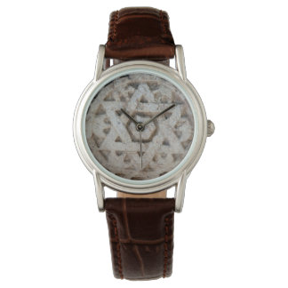 Old Star of David carving, Israel Watch