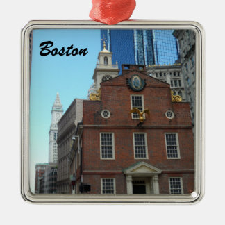 Old State House, Boston Metal Ornament