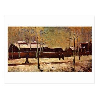 Old Station at Eindhoven, Vincent van Gogh Postcard