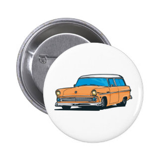Old Station Wagon Buttons