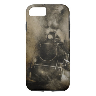 Old Steam Locomotive Retro Train Phone Case