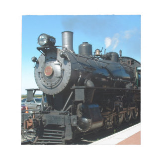 Old Steam Train One of a Kind Photo Shoot Notepad