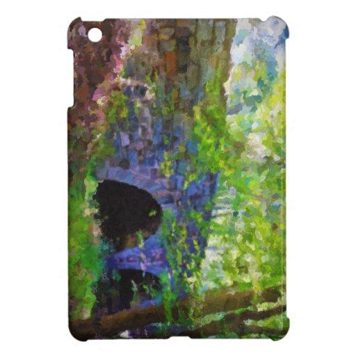 Old Stone Bridge in Forest iPad Mini Cover