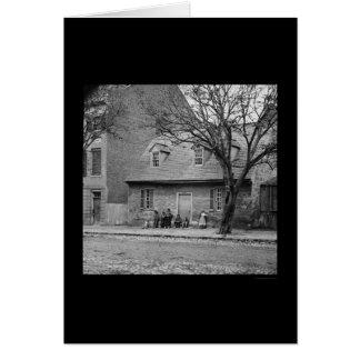 Old Stone House in Richmond,VA 1865 Card