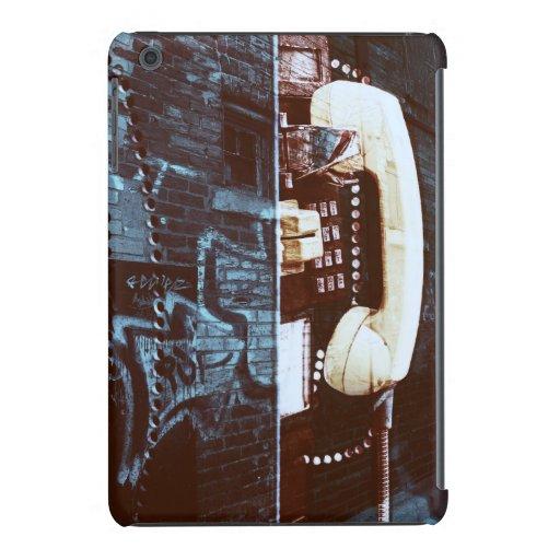 old street payphone receiver grunge iPad mini retina cases