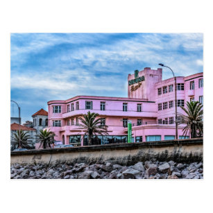 Old Style Waterfront Hotel, Montevideo, Uruguay Postcard
