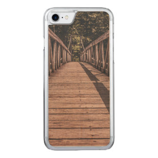 Old Suspended bridge Carved iPhone 8/7 Case