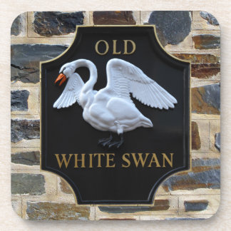 Old Swan Pub Sign Coasters