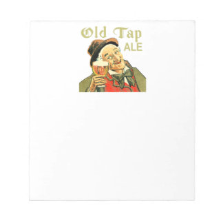 Old Tap Ale Notepad