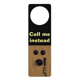 OLD TELEPHONE DOOR KNOB HANGER