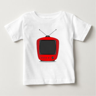Old Television Set Baby T-Shirt