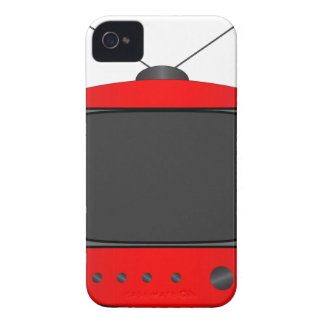 Old Television Set iPhone 4 Case-Mate Case
