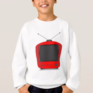 Old Television Set Sweatshirt