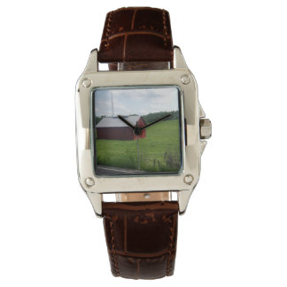 OLD TENNESSE RED WRIST WATCH