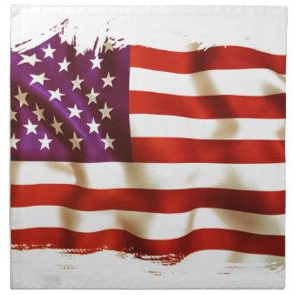 Old the USA flag Napkin