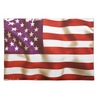 Old the USA flag Placemat