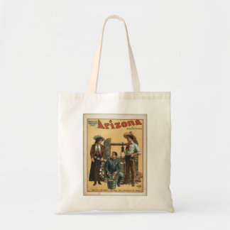 old theater budget tote bag