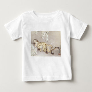 Old Tiger in the Snow Baby T-Shirt
