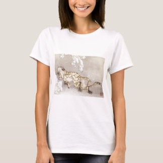 Old Tiger in the Snow T-Shirt