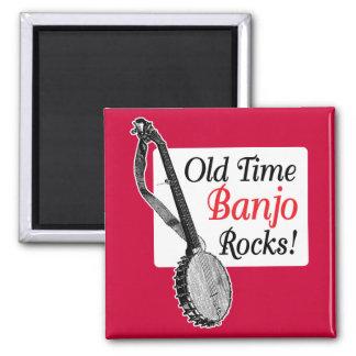 Old Time Banjo Magnet