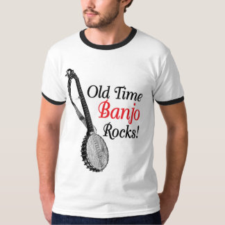 Old Time Banjo Men's ringer T-Shirt