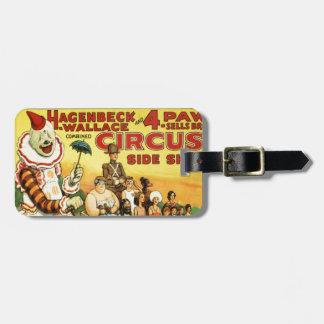 Old time Circus Luggage Tag
