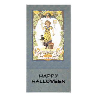Old time Halloween Design Photo Cards