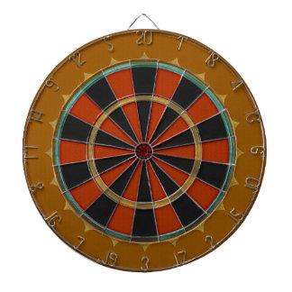 Old-Time Leather Big Top (Dartboard) Dartboard With Darts