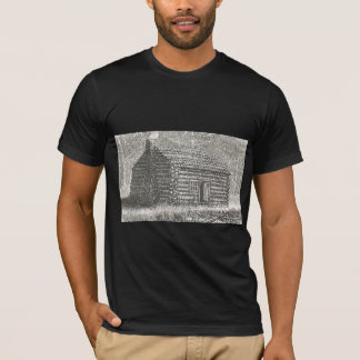 old time log cabin shirt