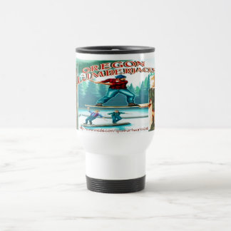 """Old Time Lumberjack"" Travel Mug"