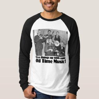 Old Time Music Men's Long Sleeve Raglan T-Shirt