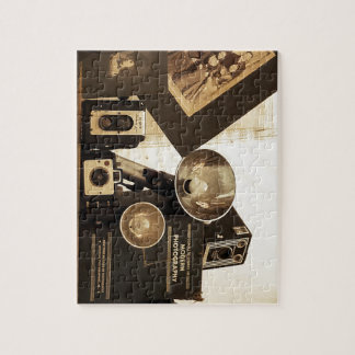 Old Time Photography Jigsaw Puzzle