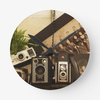 Old Time Photography Wallclock