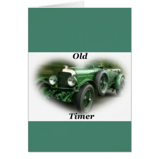 Old Timer Birthday Card