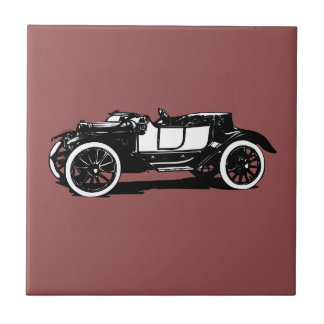Old timer ceramic tile