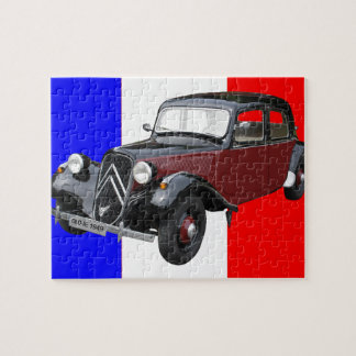 Old timer jigsaw puzzle