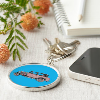 Old timer key ring