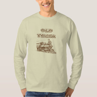 Old Timer Steam Engine Tee Shirts
